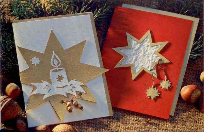 Открытка с рождеством христовым своими руками